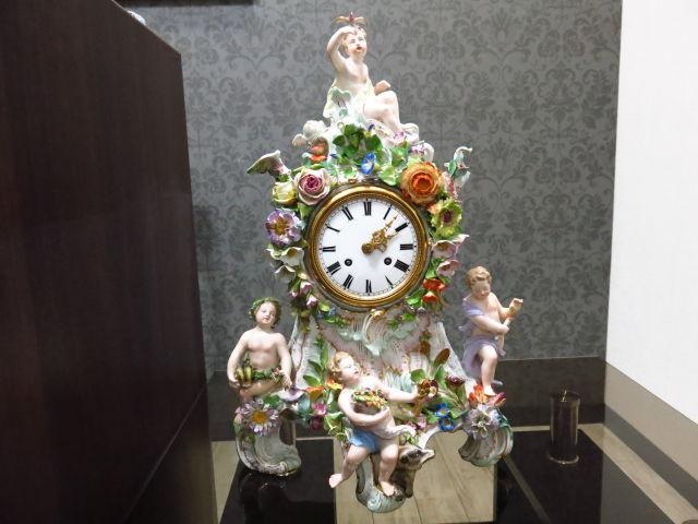 置時計修理 オーバーホール